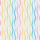 在白色背景的色的垂直线 库存例证