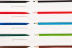 在白色背景的色的标志样式 库存图片