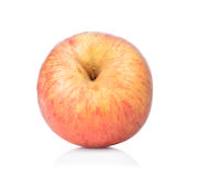在白色背景的苹果计算机孤立 免版税图库摄影