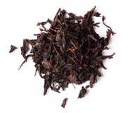 在白色背景的茶, 免版税库存照片