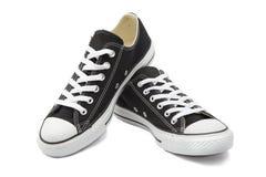 在白色背景的运动鞋 库存图片