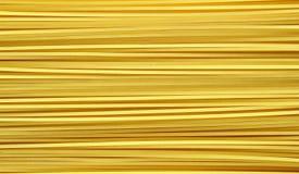 在白色背景的黄色长的意粉 免版税库存图片