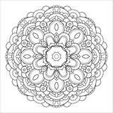 在白色背景隔绝的圆的抽象对象 免版税库存图片
