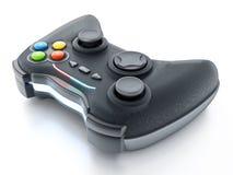 在白色背景隔绝的普通比赛控制器 3d例证 库存例证