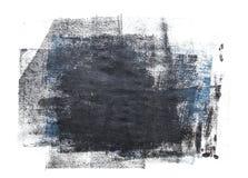 在白色背景隔绝的滚动的丙烯酸漆 皇族释放例证