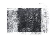 在白色背景隔绝的滚动的丙烯酸漆 库存例证