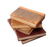 五本古色古香的书 库存照片