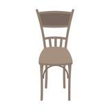 在白色背景隔绝的传染媒介木椅子 库存图片