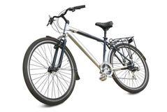 在白色背景隔绝的体育自行车 库存图片