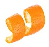 在白色背景隔绝的卷毛橙皮 库存图片