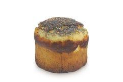 在白色背景隔绝的复活节蛋糕 免版税图库摄影
