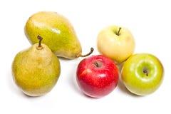 在白色背景隔绝的成熟水多的果子 库存图片