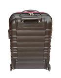 在白色背景隔绝的手提箱 免版税图库摄影