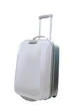 在白色背景隔绝的旅行行李 免版税库存照片