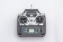 在白色背景隔绝的无线电遥控 免版税图库摄影