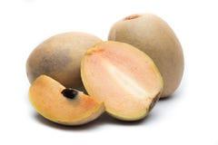 在白色背景隔绝的果实果子 免版税库存照片