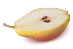 在白色背景隔绝的梨果子 免版税图库摄影