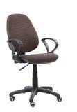 在白色背景隔绝的现代扶手椅子 免版税图库摄影