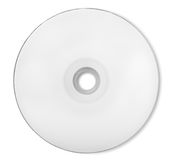 白色CD-ROM 免版税库存照片