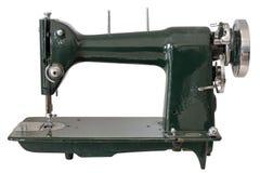在白色背景隔绝的缝纫机 库存图片