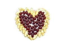 心脏药剂 库存照片