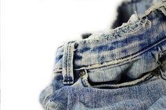 牛仔裤 图库摄影