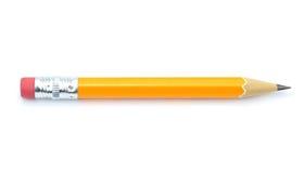 在白色背景隔绝的铅笔 免版税库存图片