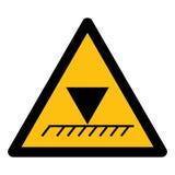 在白色背景,传染媒介例证EPS的极限顶上的高度标志标志孤立 10 皇族释放例证