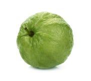 在白色背景(热带水果)隔绝的番石榴 免版税库存图片