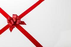 在白色背景II的圣诞节礼物 免版税图库摄影