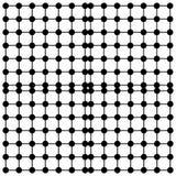 在白色背景isloated的抽象形状 图库摄影