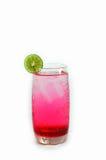 红色饮料 免版税库存图片