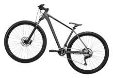 在白色隔绝的自行车 免版税库存照片