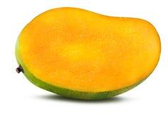 在白色隔绝的芒果果子 免版税库存图片