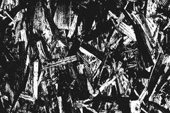 在白色隔绝的黑粒状纹理 库存图片