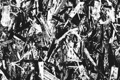在白色隔绝的黑粒状纹理 免版税库存图片