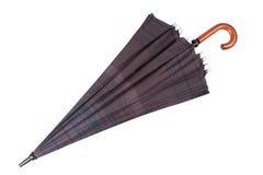 在白色隔绝的伞 免版税库存照片