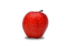 在白色隔绝的健康苹果 库存照片