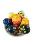 复活节彩蛋。 免版税图库摄影