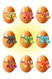 复活节彩蛋。 库存照片