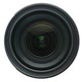 在白色隔绝的摄象机镜头 免版税库存照片