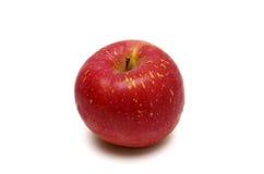 在白色隔绝的新鲜的日本苹果 免版税库存照片