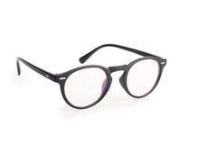 在白色隔绝的眼镜 免版税库存图片