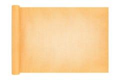 在白色隔绝的纸卷纸板 免版税库存照片