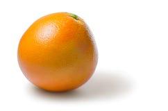 在白色隔绝的自然葡萄柚 免版税库存图片