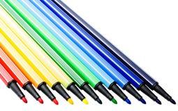 颜色标志 免版税图库摄影