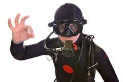 轻潜水员 库存照片