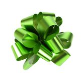 在白色隔绝的绿色包装的带 免版税库存照片
