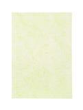 在白色隔绝的绿色桑树纸 免版税库存图片