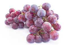 在白色隔绝的主要葡萄 库存照片